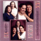 Mother-Daughter-Scrapbook Layout